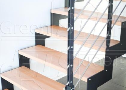 Tokyo – nowoczesne schody o konstrukcji stalowej CNC