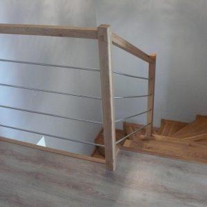 schody na konstrukcję betonową dab rustic 11