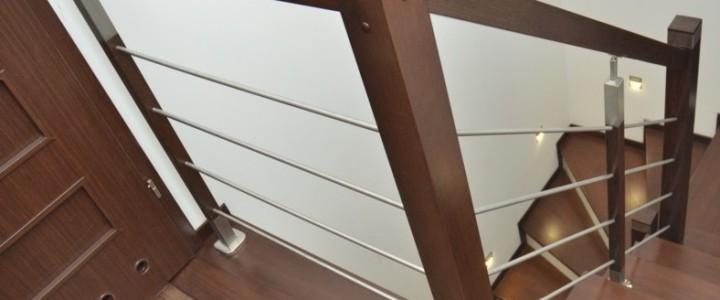 Marta – balustrada drewniana z relingiem