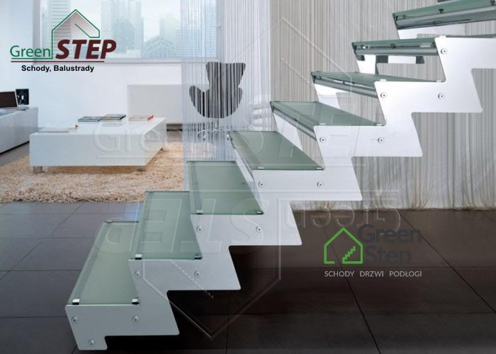 Tokyo Glass Nowoczesne Schody Szklane Greenstep