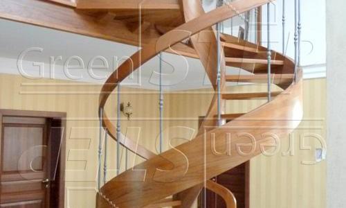 Spiral Exclusive – Schody kręcone drewniane gięte