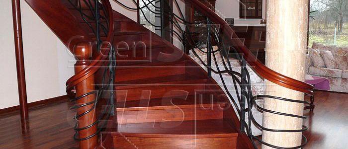 Schody Gięte –  Drewniane schody gięte klasyczne i nowoczesne
