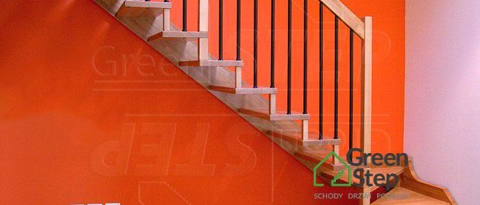 Sigma Schody drewniane policzkowo – wspornikowe  klasyczne i nowoczesne