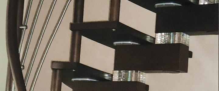 Green Wood – nowoczesne schody modułowe z podświetleniem LED